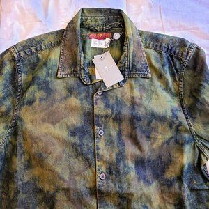 7 for All Mankind Camo Long Sleeved Shirts